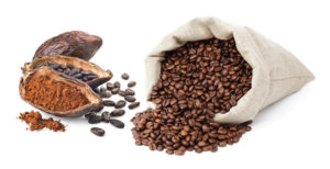 Cocoa & coffee beans