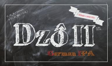 Etiquette Dzô II